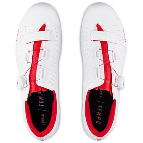 Fizik Tempo Overcurve R5 Chaussures pour vélo de route, white/red